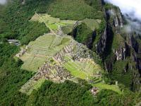 View from the Huayna Picchu