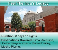 Feel the Inca's Legacy