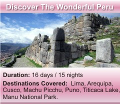Discover the wonderful Peru